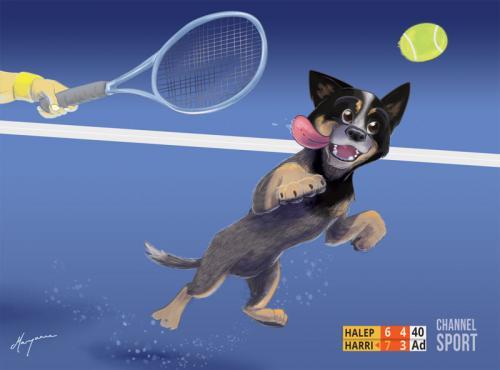 Harri-at-Australian-Open